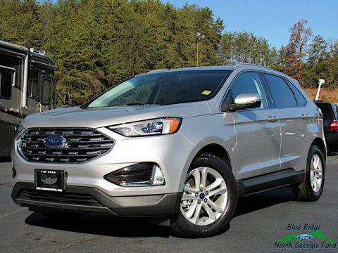 Ingot Silver Ford Edge SEL.  Click to enlarge.