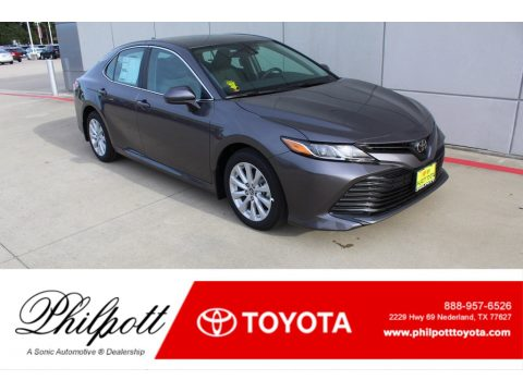 Predawn Gray Mica Toyota Camry LE.  Click to enlarge.