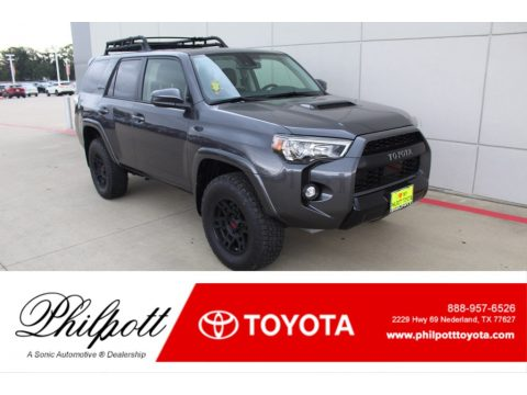 Magnetic Gray Metallic Toyota 4Runner TRD Pro 4x4.  Click to enlarge.