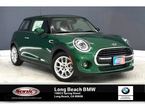 British Racing Green IV Metallic Mini Hardtop Cooper 2 Door.  Click to enlarge.
