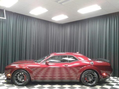 Octane Red Pearl Dodge Challenger SRT Hellcat Redeye Widebody.  Click to enlarge.