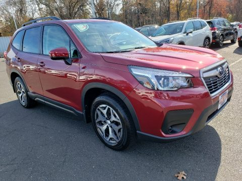 Crimson Red Pearl Subaru Forester 2.5i Premium.  Click to enlarge.