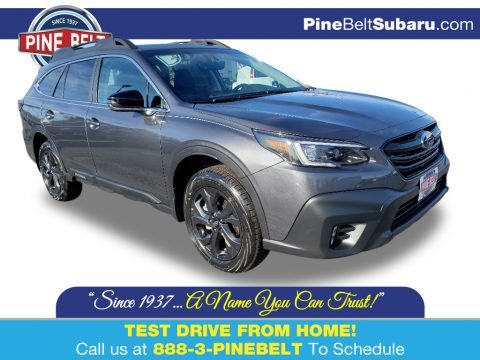 Magnetite Gray Metallic Subaru Outback Onyx Edition XT.  Click to enlarge.