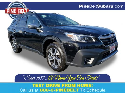 Crystal Black Silica Subaru Outback 2.5i Touring.  Click to enlarge.