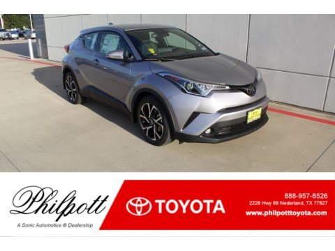 Silver Knockout Metallic Toyota C-HR Limited.  Click to enlarge.