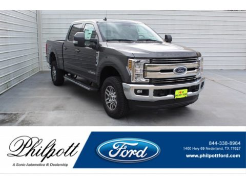 Magnetic Ford F250 Super Duty Lariat Crew Cab 4x4.  Click to enlarge.