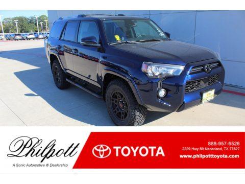 Nautical Blue Metallic Toyota 4Runner SR5 Premium.  Click to enlarge.
