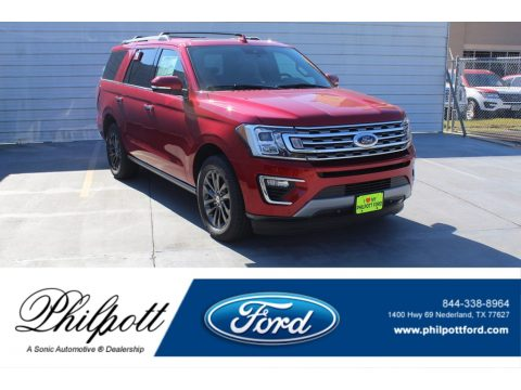 Rapid Red Ford Expedition Limited.  Click to enlarge.