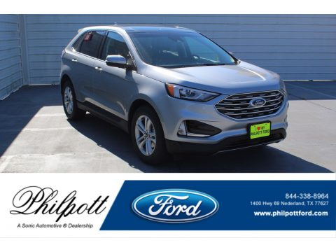 Iconic Silver Metallic Ford Edge SEL.  Click to enlarge.