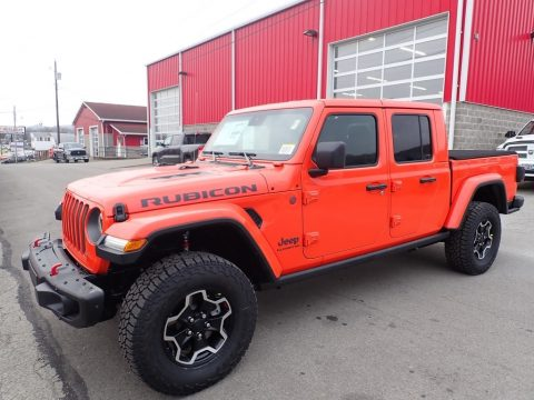 Punk'n Metallic Jeep Gladiator Rubicon 4x4.  Click to enlarge.