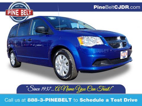Indigo Blue Dodge Grand Caravan SE.  Click to enlarge.