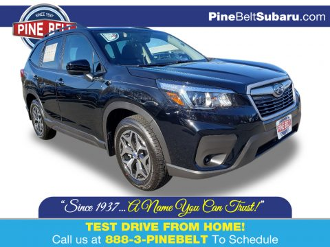 Crystal Black Silica Subaru Forester 2.5i Premium.  Click to enlarge.