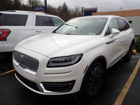 White Platinum Lincoln Nautilus Black Label AWD.  Click to enlarge.