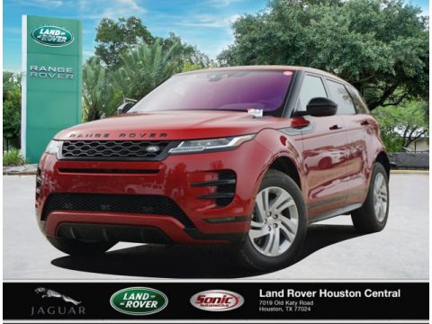 Firenze Red Metallic Land Rover Range Rover Evoque S R-Dynamic.  Click to enlarge.