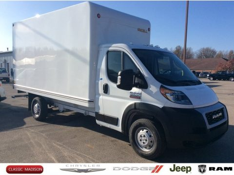 Bright White Ram ProMaster 3500 Cutaway.  Click to enlarge.