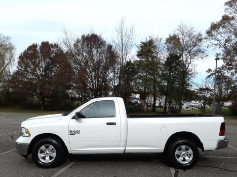 Bright White Ram 1500 Classic Tradesman Regular Cab 4x4.  Click to enlarge.