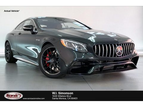 Magnetite Black Metallic Mercedes-Benz S 63 AMG 4Matic Coupe.  Click to enlarge.