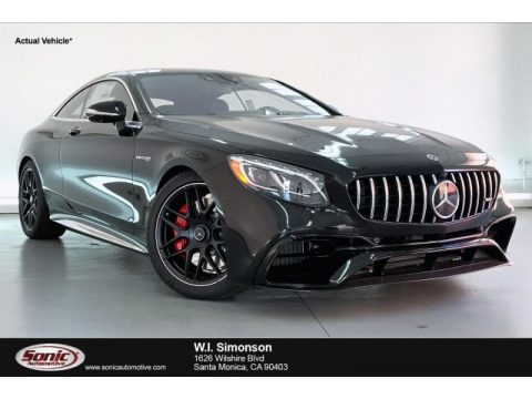 Black Mercedes-Benz S 63 AMG 4Matic Coupe.  Click to enlarge.