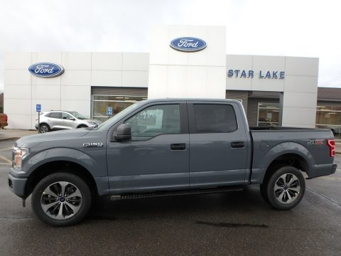 Abyss Gray Ford F150 STX SuperCrew 4x4.  Click to enlarge.