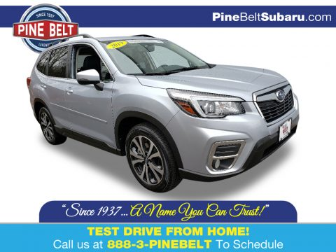 Ice Silver Metallic Subaru Forester 2.5i Limited.  Click to enlarge.