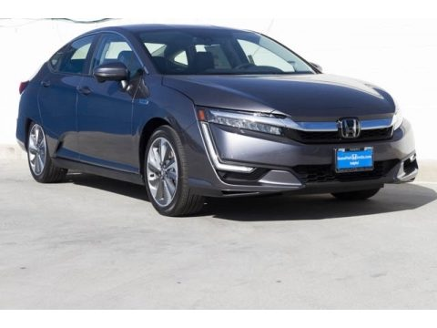 Modern Steel Metallic Honda Clarity Touring Plug In Hybrid.  Click to enlarge.
