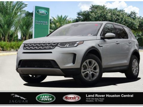 Indus Silver Metallic Land Rover Discovery Sport S.  Click to enlarge.