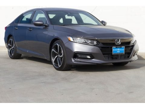 Modern Steel Metallic Honda Accord Sport Sedan.  Click to enlarge.