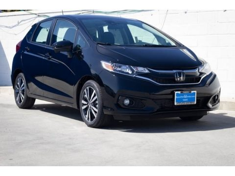 Crystal Black Pearl Honda Fit EX.  Click to enlarge.