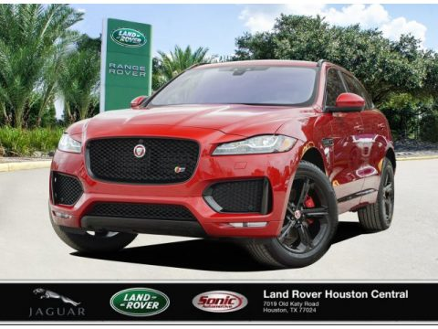 Firenze Red Metallic Jaguar F-PACE S.  Click to enlarge.