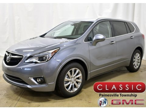 Satin Steel Metallic Buick Envision Essence.  Click to enlarge.