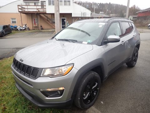Billet Silver Metallic Jeep Compass Latitude 4x4.  Click to enlarge.