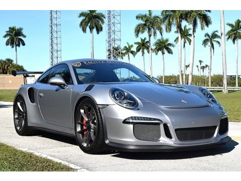 GT Silver Metallic Porsche 911 GT3 RS.  Click to enlarge.
