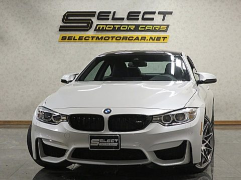 Mineral White Metallic BMW M4 Coupe.  Click to enlarge.