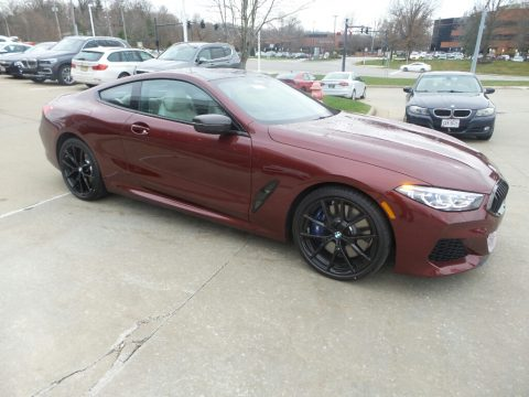 Aventurin Red Metallic BMW 8 Series M850i xDrive Coupe.  Click to enlarge.
