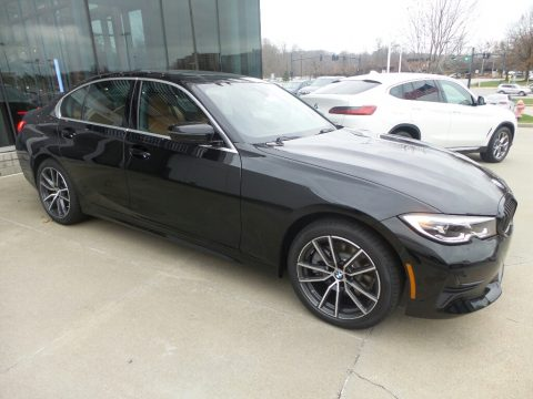 Jet Black BMW 3 Series 330i xDrive Sedan.  Click to enlarge.