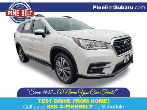 Crystal White Pearl Subaru Ascent Touring.  Click to enlarge.