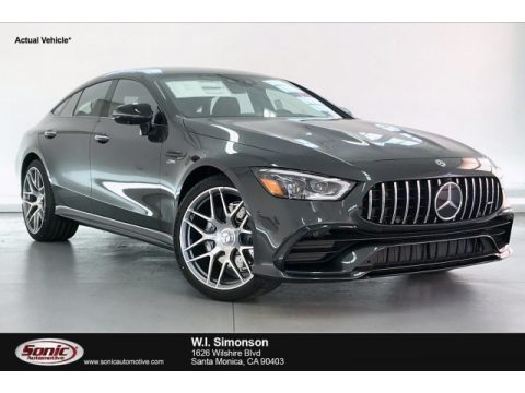 Graphite Gray Metallic Mercedes-Benz AMG GT 53.  Click to enlarge.