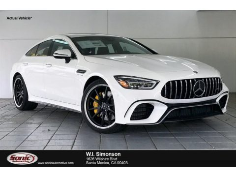 Polar White Mercedes-Benz AMG GT 63 S.  Click to enlarge.