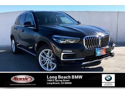 Black Sapphire Metallic BMW X5 sDrive40i.  Click to enlarge.