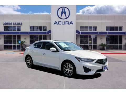 Platinum White Pearl Acura ILX Premium.  Click to enlarge.
