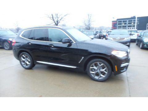 Jet Black BMW X3 xDrive30i.  Click to enlarge.