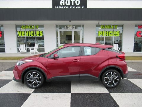Ruby Flare Pearl Toyota C-HR XLE.  Click to enlarge.