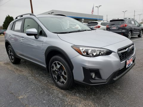 Ice Silver Metallic Subaru Crosstrek 2.0 Premium.  Click to enlarge.