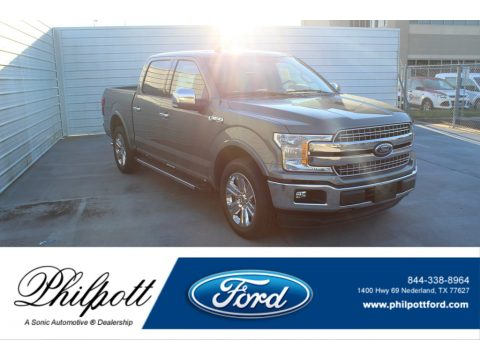 Silver Spruce Ford F150 Lariat SuperCrew.  Click to enlarge.