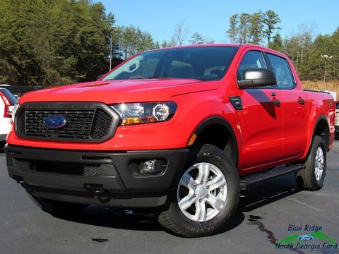 Race Red Ford Ranger STX SuperCrew 4x4.  Click to enlarge.