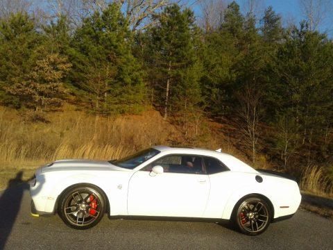 White Knuckle Dodge Challenger SRT Hellcat Redeye Widebody.  Click to enlarge.