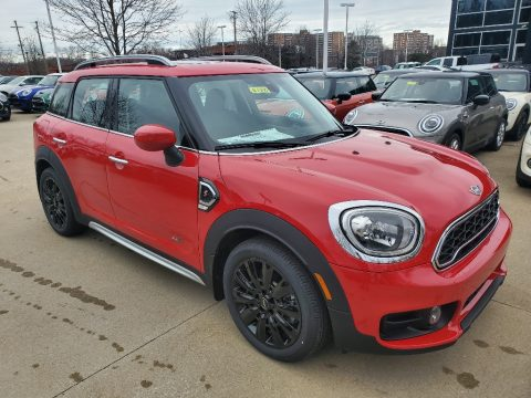 Chili Red Mini Countryman Cooper S All4.  Click to enlarge.