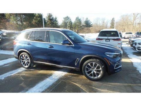 Phytonic Blue Metallic BMW X5 xDrive40i.  Click to enlarge.