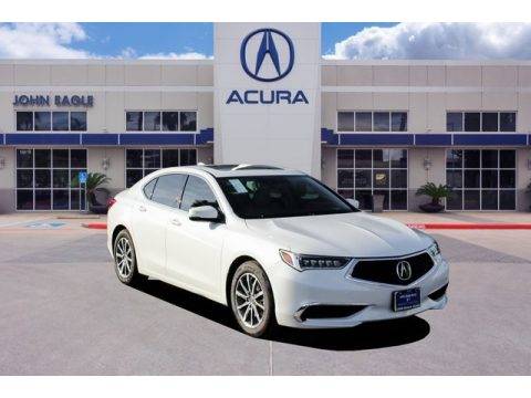 Platinum White Pearl Acura TLX Sedan.  Click to enlarge.