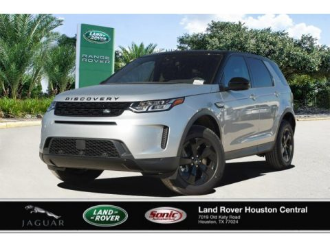 Indus Silver Metallic Land Rover Discovery Sport Standard.  Click to enlarge.